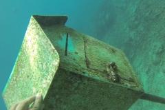 Under water mail box