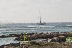 Aexandra anchored in the Bay