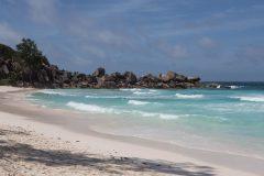 Beach at  the Indian ocean