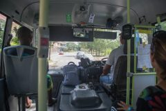 Busride to national Park